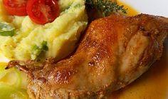 Pomalu pečený králík v marinádě z kyšky Crockpot, Potatoes, Cooking Recipes, Treats, Chicken, Ethnic Recipes, Catalog, Sweet Like Candy, Slow Cooker