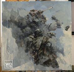 world war robot painting - Google Search
