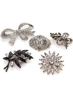 Pinned Down (jewelry.hsn.com, $22.95 - $49.95): Assorted R.J. Graziano Pins