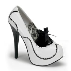 if I bought some white heels again...these would be them!