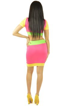 Triple Scoop Pink Dress | Sexyback Boutique