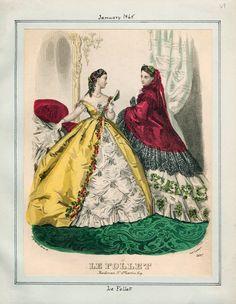 Le Follet, January 1865.