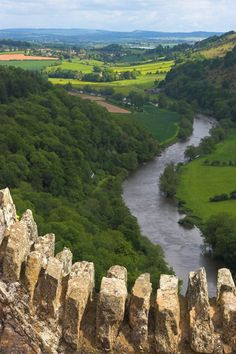 Wye Valley from Symonds Yat - Border of England and Wales