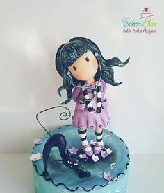 Gorjuss girl  - Cake by Şule
