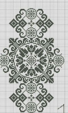 Bordado Sokal - cross stitch/ needlework You can cause really special patterns for materials with cross stitch. Cross stitch designs can almost impress you. Cross stitch novices could make the designs they need without difficulty. Cross Stitch Borders, Cross Stitch Flowers, Cross Stitch Charts, Cross Stitch Designs, Cross Stitching, Cross Stitch Patterns, Christmas Embroidery Patterns, Hand Embroidery Patterns, Embroidery Designs