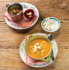 Sopa de cenoura com curry e leite de coco   Receita Panelinha: Cenoura também rende uma sopa nota mil. Além do sabor adocicado, conta ponto o visual vibrante! Agora, se você quiser transformar completamente o sabor, junte leite de coco e uma pitada de curry.