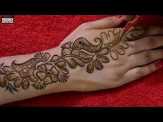 Easy DIY Mehndi - Requested Mehendi Designs For Beginners Step By Step - Art & Craft Ideas<br> Mehandi Design For Hand, Simple Arabic Mehndi Designs, Full Hand Mehndi Designs, Stylish Mehndi Designs, Mehndi Designs For Fingers, Mehndi Art Designs, Simple Mehndi Designs, Mehendi, Dulhan Mehndi Designs