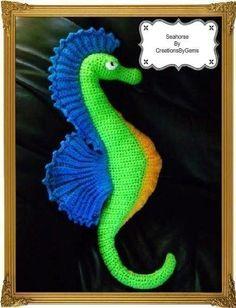 Seahorse PDF Crochet Pattern