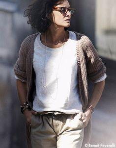 My favorite fashion icon, Ines de la Fressange.