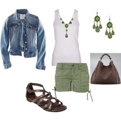 :) I haven't rocked a jean-jacket in years, but I sure wouldn't mind! (And I love the shoes.)