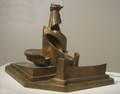 'Development of a Bottle in Space', bronze sculpture by Umberto Boccioni, 1913, Metropolitan Museum of Art - Umberto Boccioni - Wikipedia, the free encyclopedia