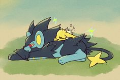 Luxray and Jolteon