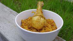 Polskie South Beach: Arabski pilaw z kurczakiem