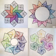 Eternal by Kasturi Das - Maler Klecksel - Zentangle Drawings, Zentangle Patterns, Art Drawings, Mandala Design, Mandala Art, Mandala Drawing, Geometry Art, Fractal Geometry, Sacred Geometry