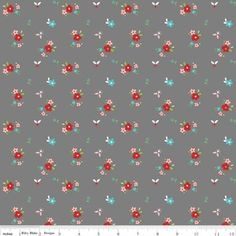 Tasha Noel - Little Red Riding Hood - Floral in Gray