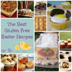 Need a few ideas for Easter recipes? This page has gluten free Easter treats and more!