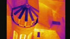 rooftop survey using an infrared camera