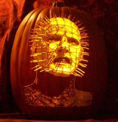 The Hellraiser Pumpkin