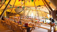 Multi award-winning providers of beautiful giant Nordic tipis for magical weddings, events & festivals, all year round.