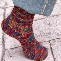 Knitting Pattern - Slip One Skip Two Socks - Intrepid Tulips Yarn