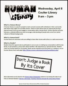 What's New @ Coulter Library: Human Library- Save the Date
