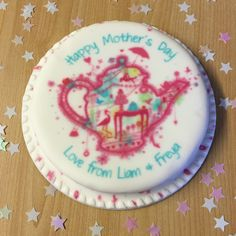 Mothers day personalised letter box cake from Baker Days