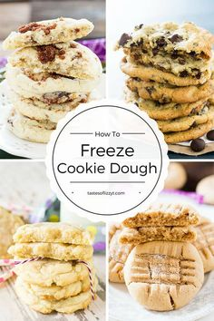 Your complete guide on how to freeze cookie dough. Our best cookie recipes to freeze, plus tipsand techniques for quick, easy, cookie baking.