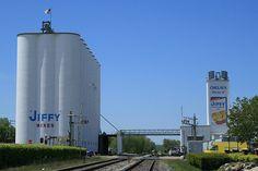 Jiffy Mix Plant  Chelsea Michigan, via Flickr.