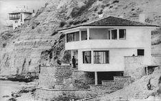 Atelierul de arhitectură Liliana Chiaburu: Arh. Henrieta Delavrancea - Casa Constantiniu, Balcic, 1935 Arch, History, Outdoor, Image, Home, Dan, Design, Memories, Romania