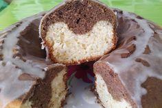 Torta marmolada con algarroba