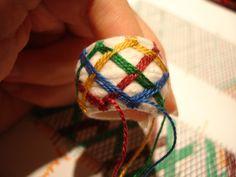 Yubinuki Hungary- four-color embroidery - embroidery Yubinuki-Japan - Creative Magazine magazine - Hotdog.hu. In Hungarian w/ google translate.  Best directions I've found so far for patterns.
