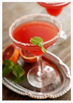 Blood Orange Mezcal Margarita recipe from Food52