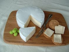 A delightfully cool felt food cheeseboard!