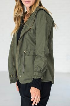 Utility Jacket - Green