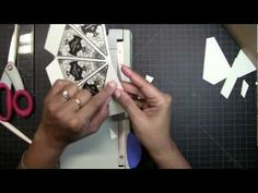 tutorial on how to make 3D trees using Holiday Magic stamp set