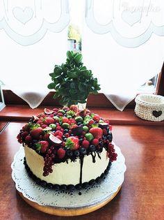 Pribináčiková torta s ovocím (fotorecept) - recept | Varecha.sk