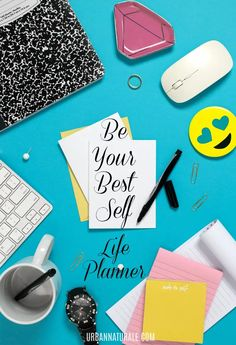 Personal development helps you grow, achieve your goals and live a long, happy life. It is the foundation of physical, emotional, intellectual and spiritual health. Personal growth is in your hands. Your FREE, Printable 'Be Your Best Self'' Life Planner provides you with 365 days of pages to focus on -- and keep track of -- your personal growth and development. #personalgrowth #change #growth #personaldevelopment #health Positive Inspiration, Spiritual Health, Achieve Your Goals, Live Your Life, Life Planner, Best Self, Live For Yourself, Happy Life, Personal Development
