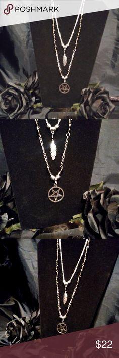 I just added this listing on Poshmark: Boho Style Pentagram Necklace Quartz Goth Witchy. Satanic Jewelry, Pentagram Necklace, Beautiful Gift Boxes, Smoky Quartz, Lobster Clasp, Silver Beads, Boho Style, Silver Plate, Boho Fashion
