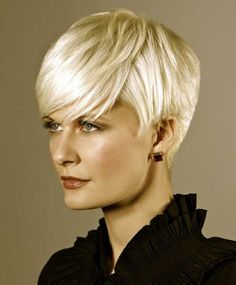 Short blonde layered hairstyles
