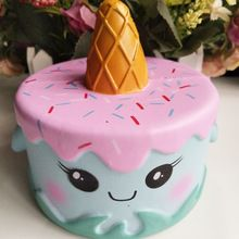 <Jan's Offer! Just click Image > 1 Piece 14CM Colorful Cartoon Unicorn Cake Tail Cakes Kids Fun Gift Squishy Slow Rising Kawaii Squishies Phone Straps Fun Gags *** Click the image for detailed description on AliExpress.com #MobilePhoneAccessories