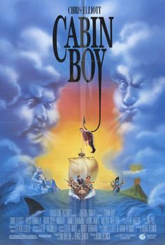 Cabin Boy , starring Chris Elliott, Ritch Brinkley, James Gammon, Brian Doyle-Murray. A foul-mouthed finishing school graduate mistakenly winds up on an ill-fated fishing boat, and faces the wrath of a crew that considers him bad luck. #Comedy #Music #Romance