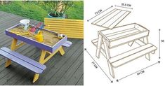 Here's the link to the tutorial >> DIY Sandbox Picnic Table <<…