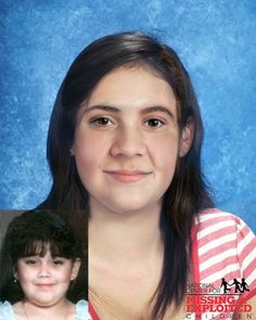 Alejandra's photo is shown age-progressed to 18 years. Monserrat's photo is shown age-progressed to 13 years. Wesley's photo is shown age-progressed to 16 years. They were allegedly abducted by their father, Alejandro Rivera Avina, on January 22, 2005. An FBI Unlawful Flight to Avoid Prosecution warrant was issued for Alejandro on August 19, 2005. They are believed to be in Mexico. Alejandra's nicknames are Alex and Ali. Monserrat has a scar on her right foot. Her nickname is Monse. Wesley's…