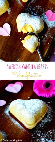 Swedish Vanilla Hearts (Vaniljhjärtan). Perfect for Valentine's Day. They are to die for! | Del's cooking twist