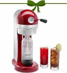 We have just found the best present! For yourself or for someone who loves bubbles! The #kitchenaid soda stream is brand new in store today! www.soswish.com.au #shoplocal #soswish #giftideas #bubbles #refreshing