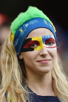Amazingly Patriotic USA World Cup Face Paint Because America Does Sports Fanaticism Best   Bustle