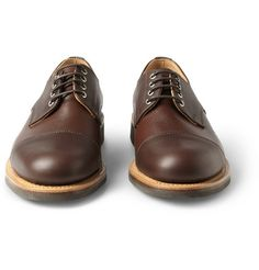 Oliver Spencer Leather Derby Shoes | MR PORTER ($200-500) - Svpply