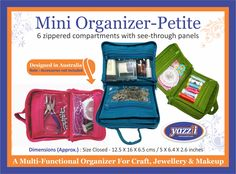 Cosmetic Storage, Organising, Quilting Projects, Lunch Box, Organization, Bag, Makeup, Crafts, Design