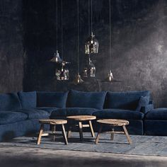 An instant classic from the esteemed furniture designer Timothy Oulton's Noble Souls Collection, the Nest Sofa is a truly plush yet supportive lounger perfect for kic. Lounge Seating, Modular Design, Round Coffee Table, Small Tables, House And Home Magazine, Cozy House, Home Art, Living Room, Interior Design