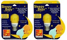Sleepy Baby LED Nursery Light - HAPPY BABY, HAPPY PARENTS (2 Pack). For product info go to: https://all4babies.co.business/sleepy-baby-led-nursery-light-happy-baby-happy-parents-2-pack/